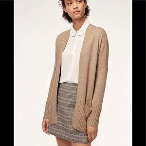 Aritzia Talula Lenox open Sweater